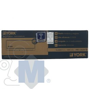 mini split york caja evaporadora